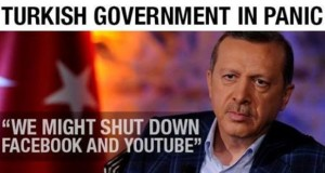 Turkish PM Erdogan Warns of Facebook, YouTube Shutdown